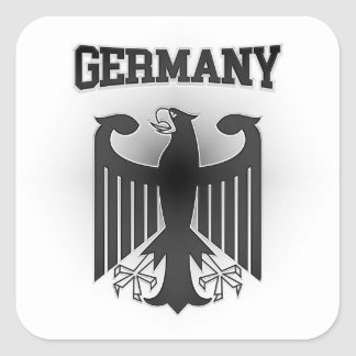 Germany Coat of Arms Square Sticker