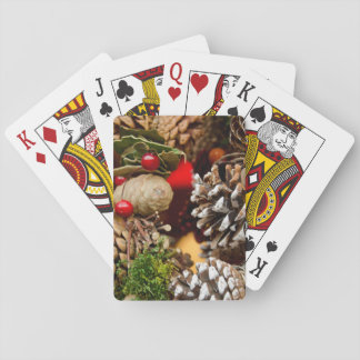 Germany, Cologne. Cologne Cathedral Christmas Poker Deck