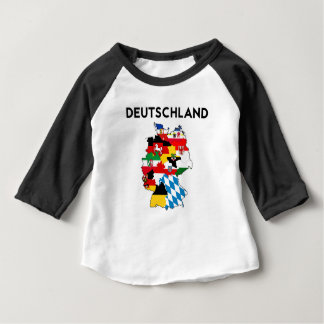 germany country political flag map region province t shirts