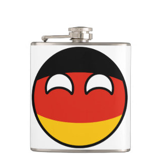 Germany Countryball Flasks