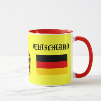 GERMANY* / DEUTSCHLAND Flag & Coat of Arms Mug