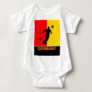 Germany Deutschland Soccer 2010 Baby Grow Baby Bodysuit