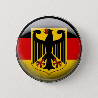Germany Flag 2 Inch Round Button