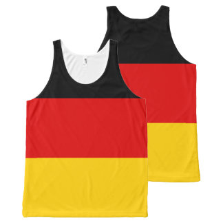 Germany Flag All-Over-Print Tank Top