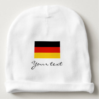 Germany flag baby beanie hat for German boy / girl