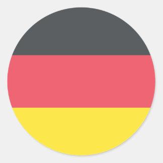 Germany Flag Classic Round Sticker