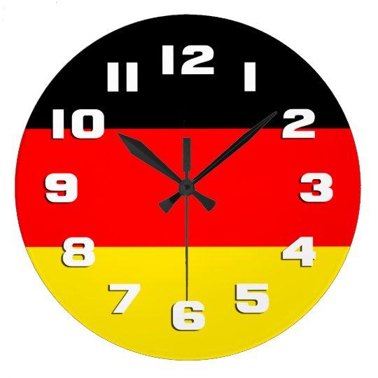 Germany Flag Clock