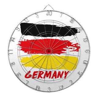 Germany flag designs dartboard