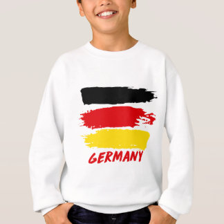 Germany flag designs sweatshirt