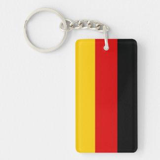 Germany Flag Double-Sided Rectangular Acrylic Keychain