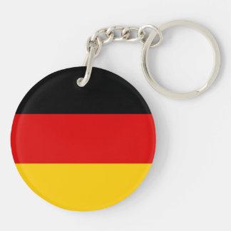 Germany Flag Double-Sided Round Acrylic Keychain