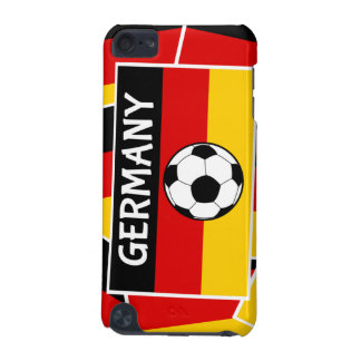 Germany Flag Football iPod Touch (5th Generation) Covers