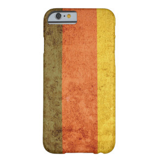 Germany Flag - Grunge Barely There iPhone 6 Case