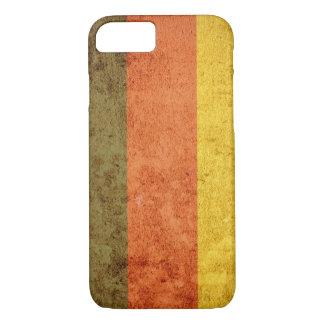 Germany Flag - Grunge iPhone 7 Case