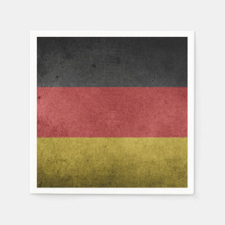 Germany Flag Grunge Paper Napkin