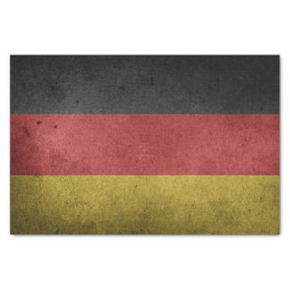 Germany Flag Grunge Tissue Paper