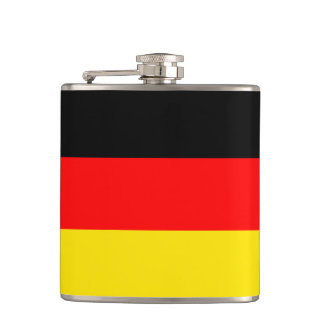 Germany flag hip flask