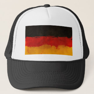 Germany Flag Home Country Black Red Gold Trucker Hat