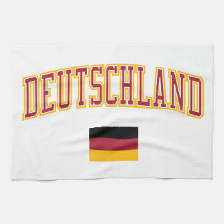 Germany + Flag Kitchen Towels