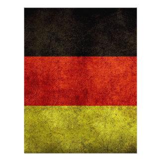 Germany flag letterhead