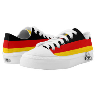 Germany Flag Low-Top Sneakers