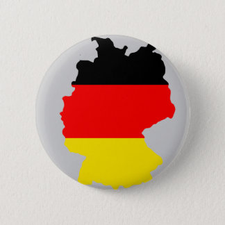 Germany flag map 2 inch round button