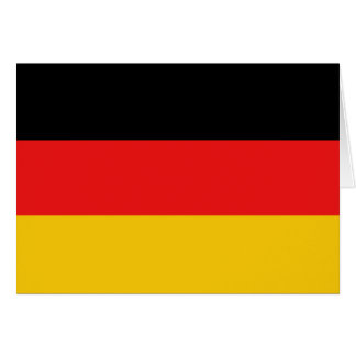 Germany Flag Notecard