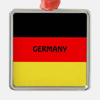 Germany: Flag of Germany Metal Ornament