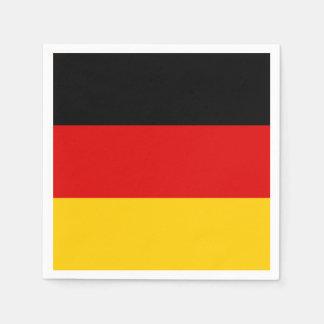 Germany Flag Paper Napkin