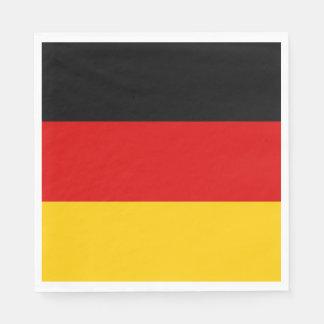 Germany flag paper napkins