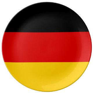 Germany Flag Porcelain Plates