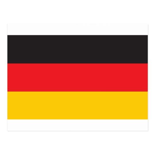 Germany Flag Postcard