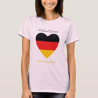 Germany Flag Sweetheart T-Shirt