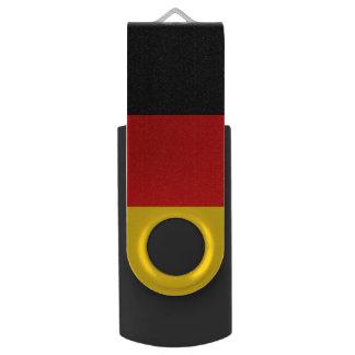 Germany Flag Swivel USB 2.0 Flash Drive