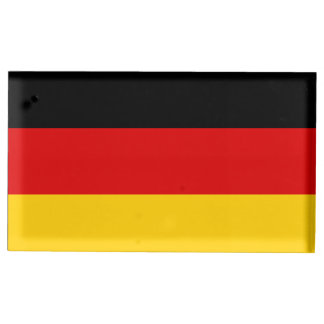 Germany Flag Table Card Holders