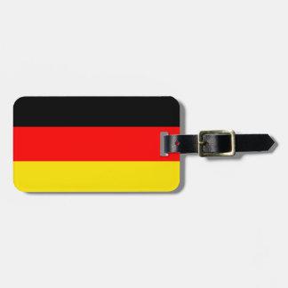 Germany Flag Travel Bag Tag