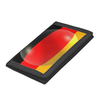 Germany Flag Trifold Wallet