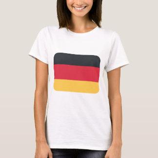 Germany flag using Twitter emoji T-Shirt
