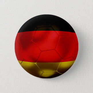 Germany Football 2 Inch Round Button