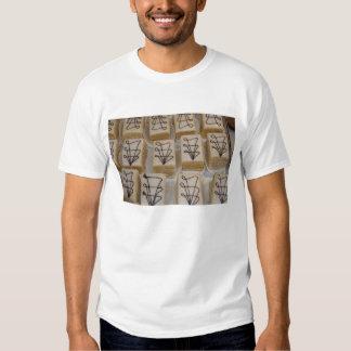 Germany, Franconia, Wertheim. Local bakery T-shirt
