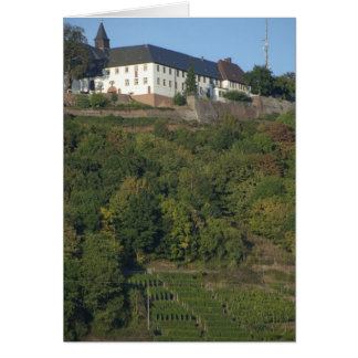 Germany, Franconia, Wertheim. Special hillside Greeting Cards