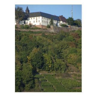 Germany Franconia Wertheim Special hillside Postcard