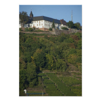 Germany, Franconia, Wertheim. Special hillside Poster