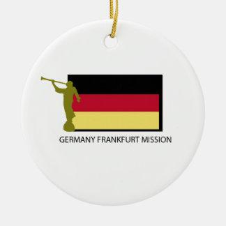 GERMANY FRANKFURT MISSION LDS CTR CERAMIC ORNAMENT