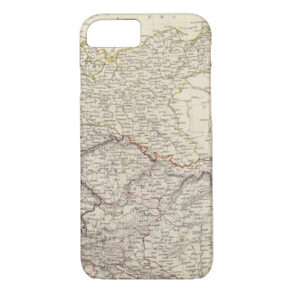 Germany general map iPhone 7 case