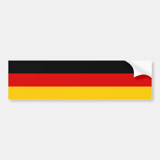Germany/German (Civil) Flag Bumper Sticker
