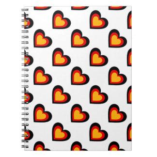 Germany/German flag-inspired Personnalised Notebook