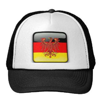 Germany glossy flag trucker hat