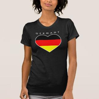"""Germany heart football shirt """"Germany """""""