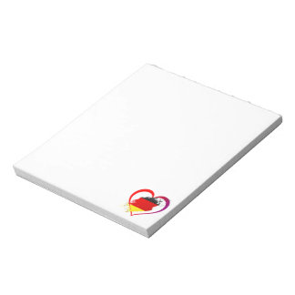 Germany heart notepad